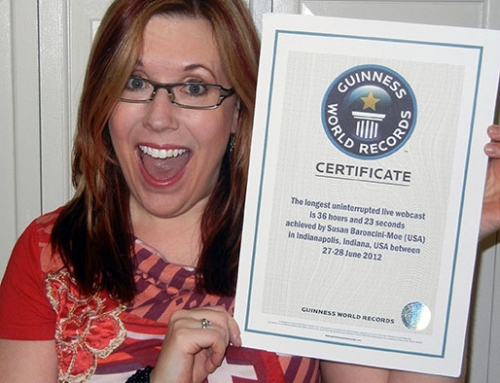 It's Official: I'm A Guinness World Records® Record Holder!