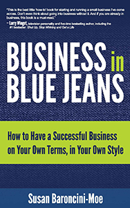 Claim Your Free Kindle Copy of Business in Blue Jeans, the Book!