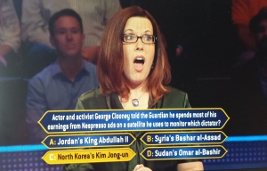 Susan Baroncini-Moe on Who Wants To Be A Millionaire Guinness World Records Edition