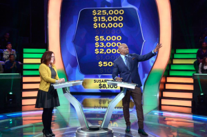 Susan Baroncini-Moe on Who Wants to Be A Millionaire: Guinness World Records Edition