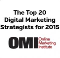 Announcement: Susan Baroncini-Moe Named Top 20 Digital Marketing Strategist of 2015